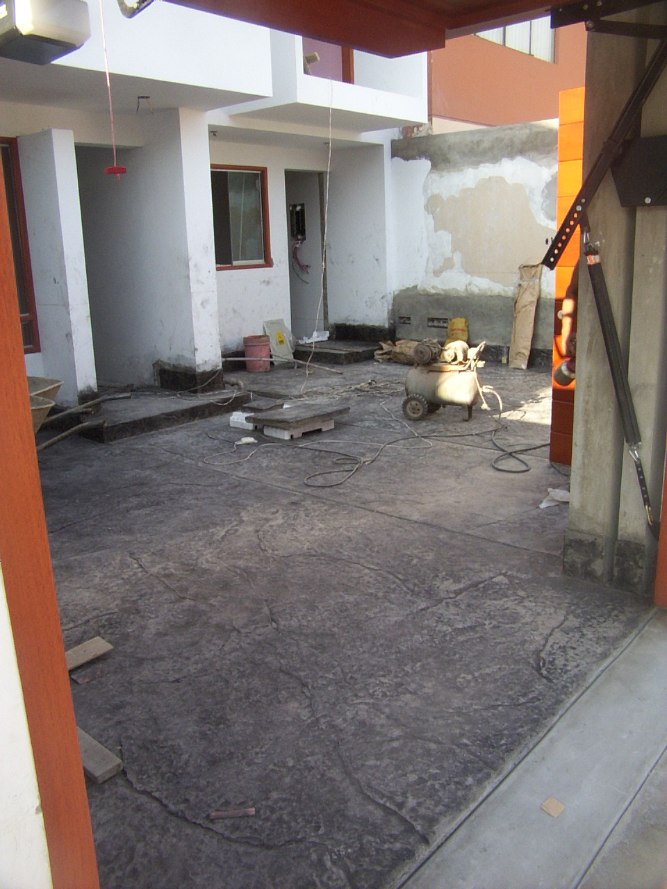 Increte per systems pisos estampados con piedra - Piso de pizarra ...