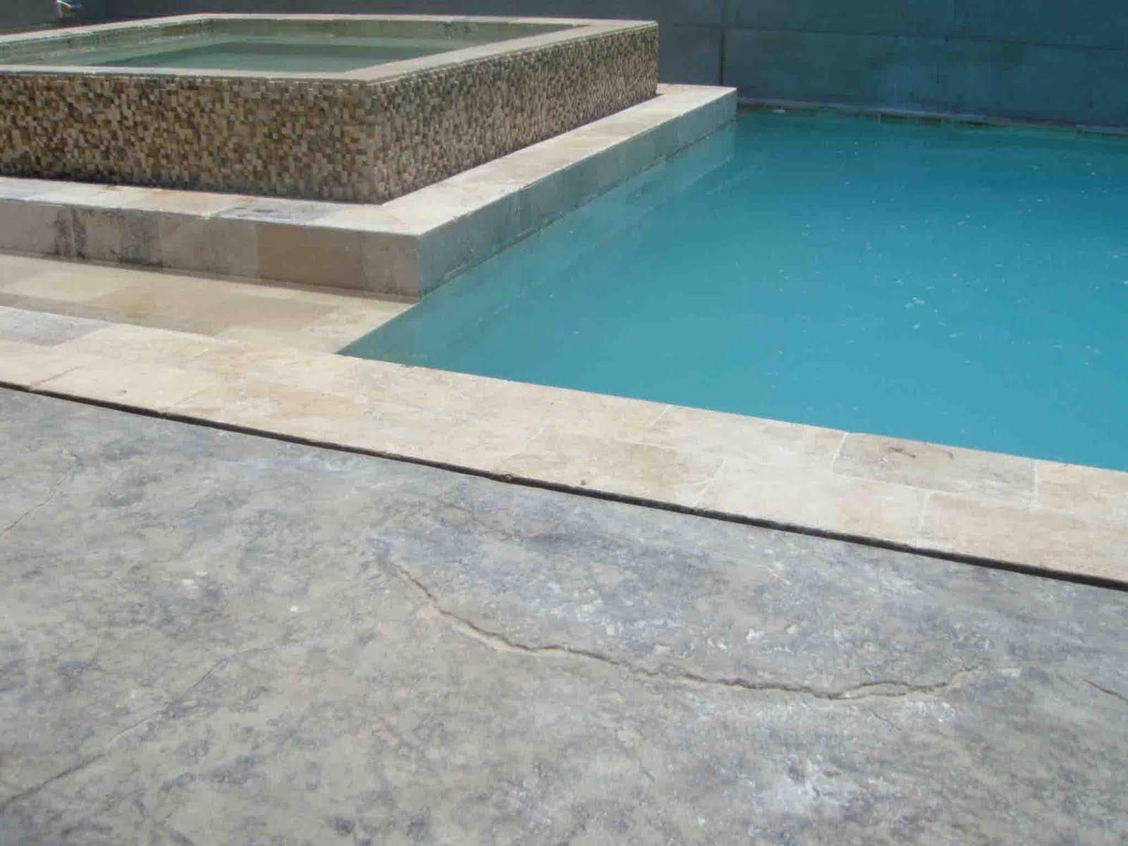 Increte per systems piscina con terraza de concreto - Cemento para piscinas ...