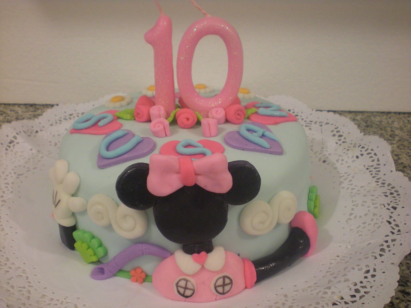 Tortas:::Decotortas: Mini torta de Minnie Mouse