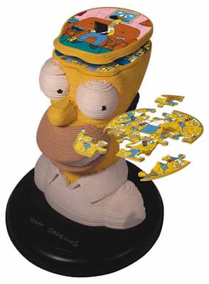 Паззл Homer Simpson