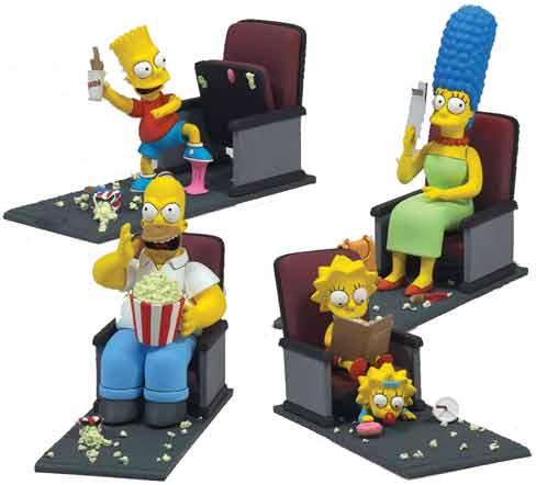 Фигурки Симпсонов в кино