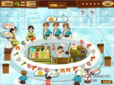 Product picture Game Download - Sushi Frenzy
