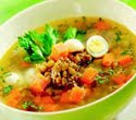 resep masakan indonesia sup kacang ijo