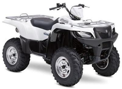 Suzuki KingQuad 500 AXi ATV 2009