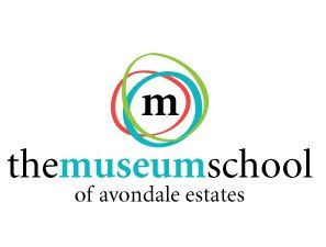 museum school,logo,design