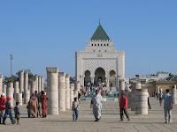 Rabat Mausole MohammedV/الرباط - ضريح الملك محمد الخامس