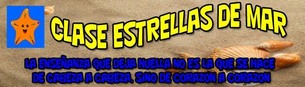 CLASE DE LAS ESTRELLAS DE MAR