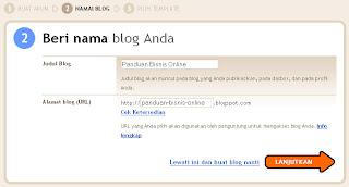 Membuat blog dengan Blogger selesai