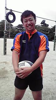 今日の練習は2003年卒の河野洋平さんがきて下さいました。「頑張って下さ... 県千葉ラグビー部