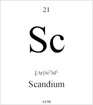 21 Scandium