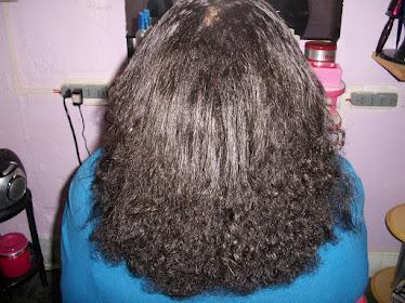 Antes da Escova Progressiva Inteligente, cabelos volumosos, secos e sem vida!!