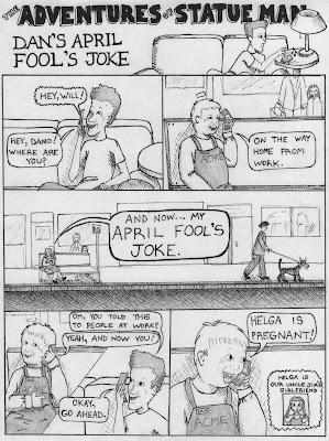 Daniel Drinker: Dan's April Fools Joke (NEW COMIC)