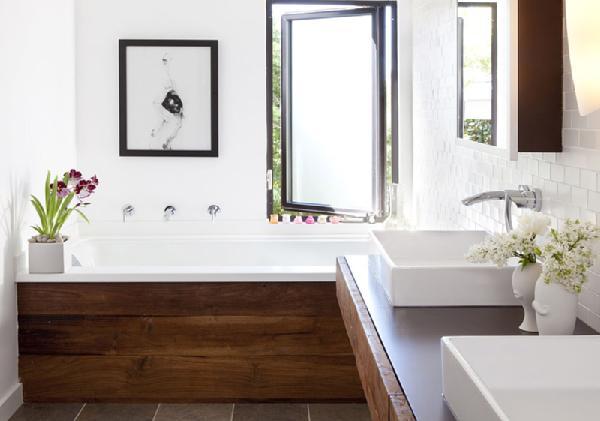 Inspiration Rustic Modern Bathroom Dans Le Lakehouse