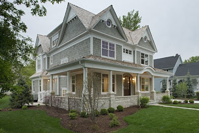 White wood grey shingles for Nantucket shingles