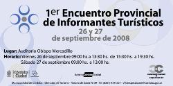 1° Encuentro Provincial de Informantes Turísticos de Córdoba