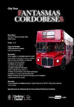 Fantasmas Cordobeses- City Tour en Bus- Viernes 21 de Noviembre