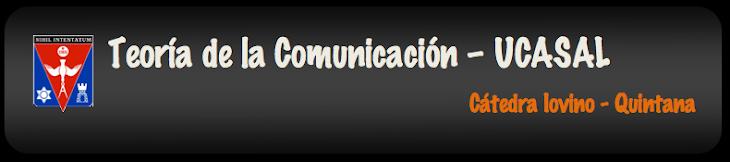 Teoría de la Comunicación - UCASAL