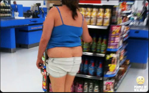 london typical outfit people of WalMart