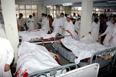 Suicide blast at Pakistan hospital