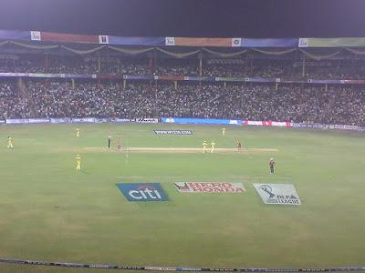 Bomb blast at Bangalore's Chinnaswamy stadium