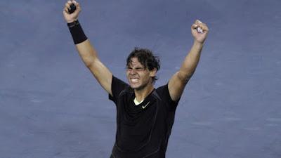 Rafael Nadal Wins First U.S. Open
