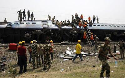 Train accident in Madhya Pradesh