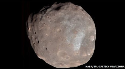 created Mars moon