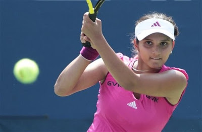 Sania Mirza in Commonwealth Games
