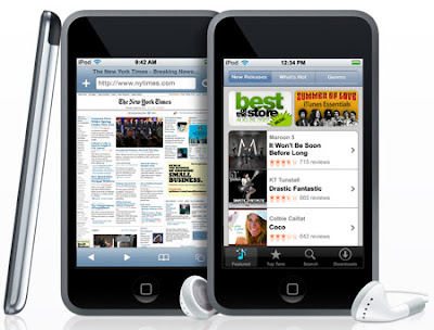 Apple's iPhone, iPod Touch