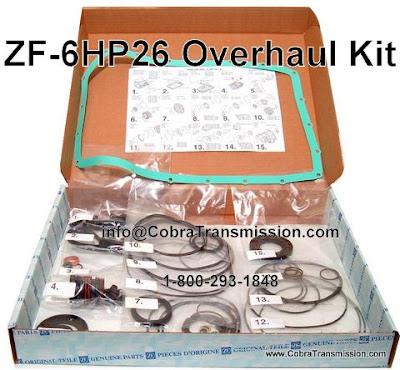 Cobra Transmission Parts 1 800 293 1848 Zf 6hp26 6hp26a