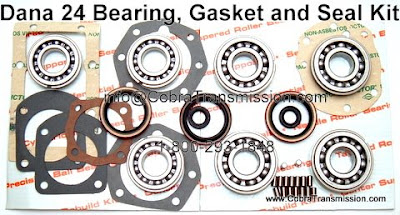 Cobra transmission parts 1 800 293 1848 march 2008 i you only need the gasket and seal kit it would be like the picture below minus the bearings sciox Images