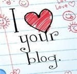 I love your blog.