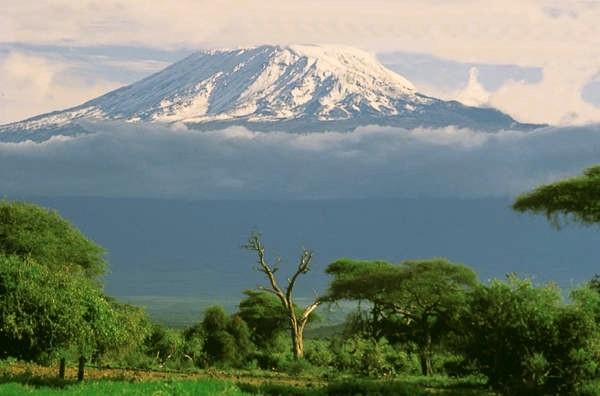 Στην ανατολική αφρική το κιλιμάντζαρο