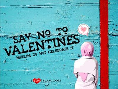 hukum sambut valentine's day