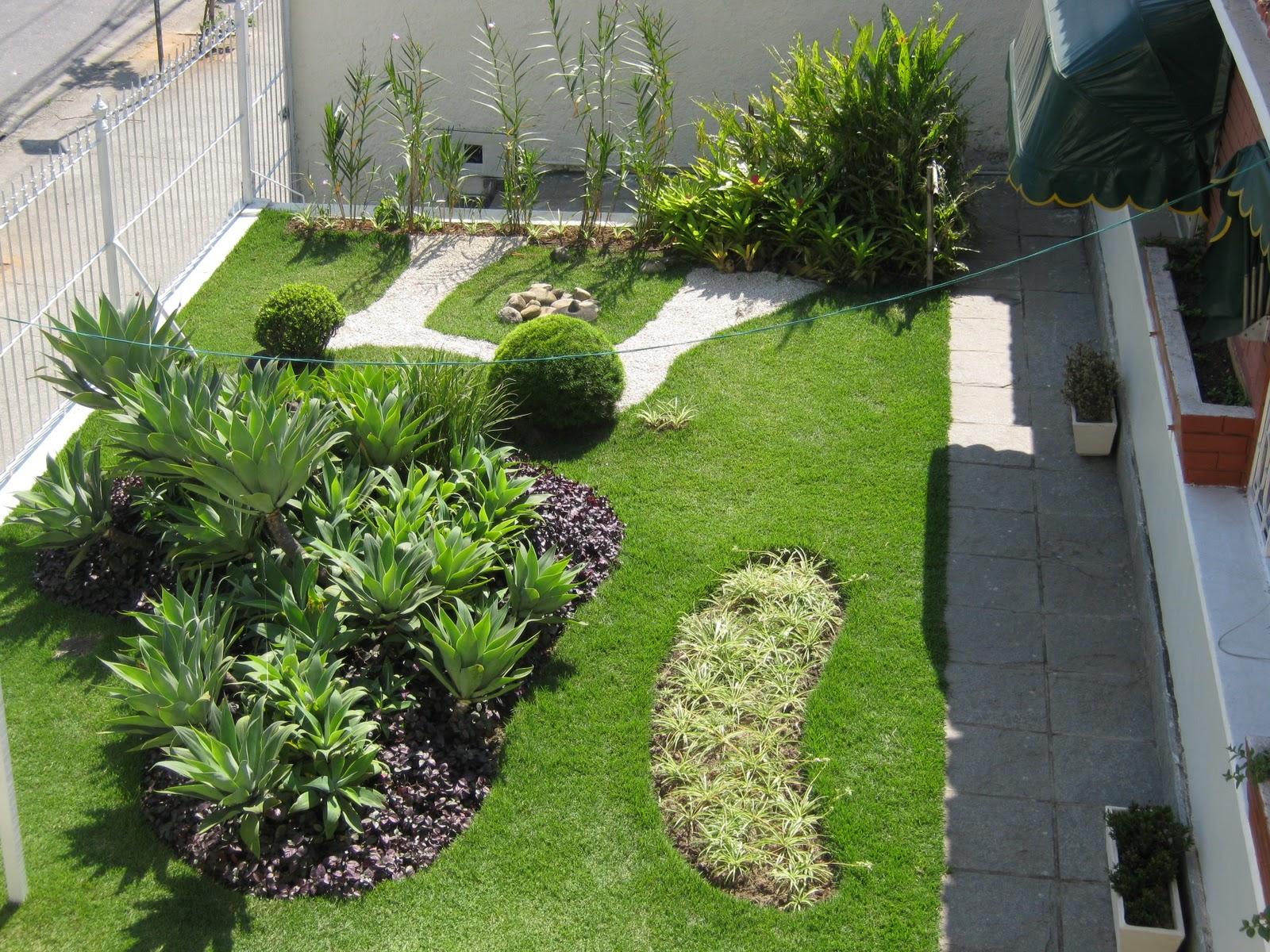 mini jardim residencial:Jardim Residencial (Trabalho realizado em Santa Cruz – RJ)