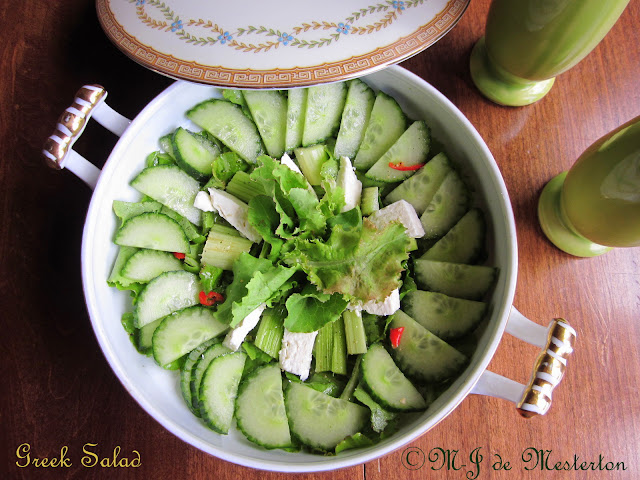 Simple Elegant Gourmet Salad
