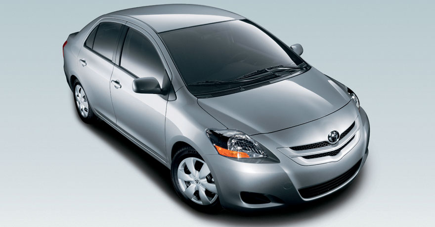 The stylish sedan has a ground clearance of 132.00 mm. Toyota Yaris