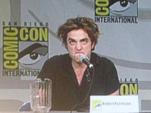 Robert Pattinson Funny Face on Perks Of Being A Vampire  You Don T Have To Exert Much Effort  Face