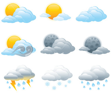 weather symbols for kids - weather map symbols Prestige Marques
