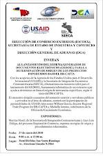 INVITACION SECRETARIA DE INDUSTRIA Y COMERCIO