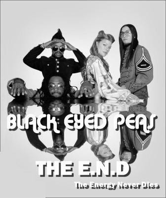beginning black eyed peas album art. Release of lack eyed