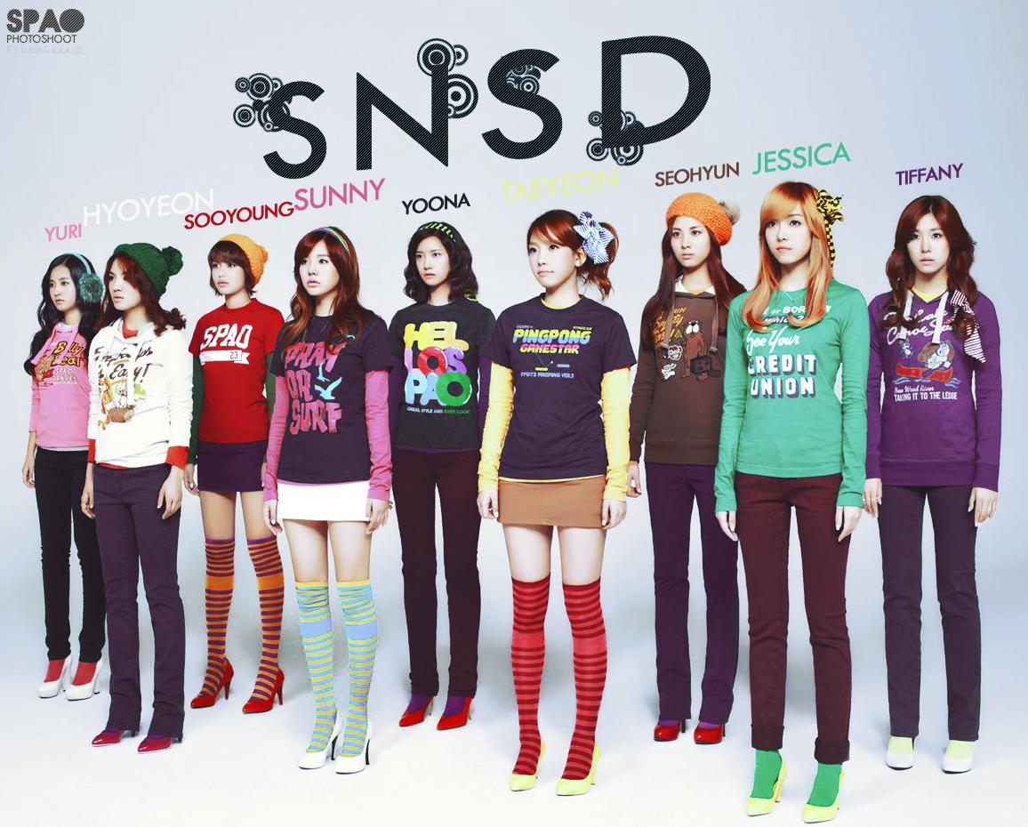 SNSD January Calendar 2010
