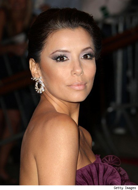 My favourite is Eva Longoria's look below,