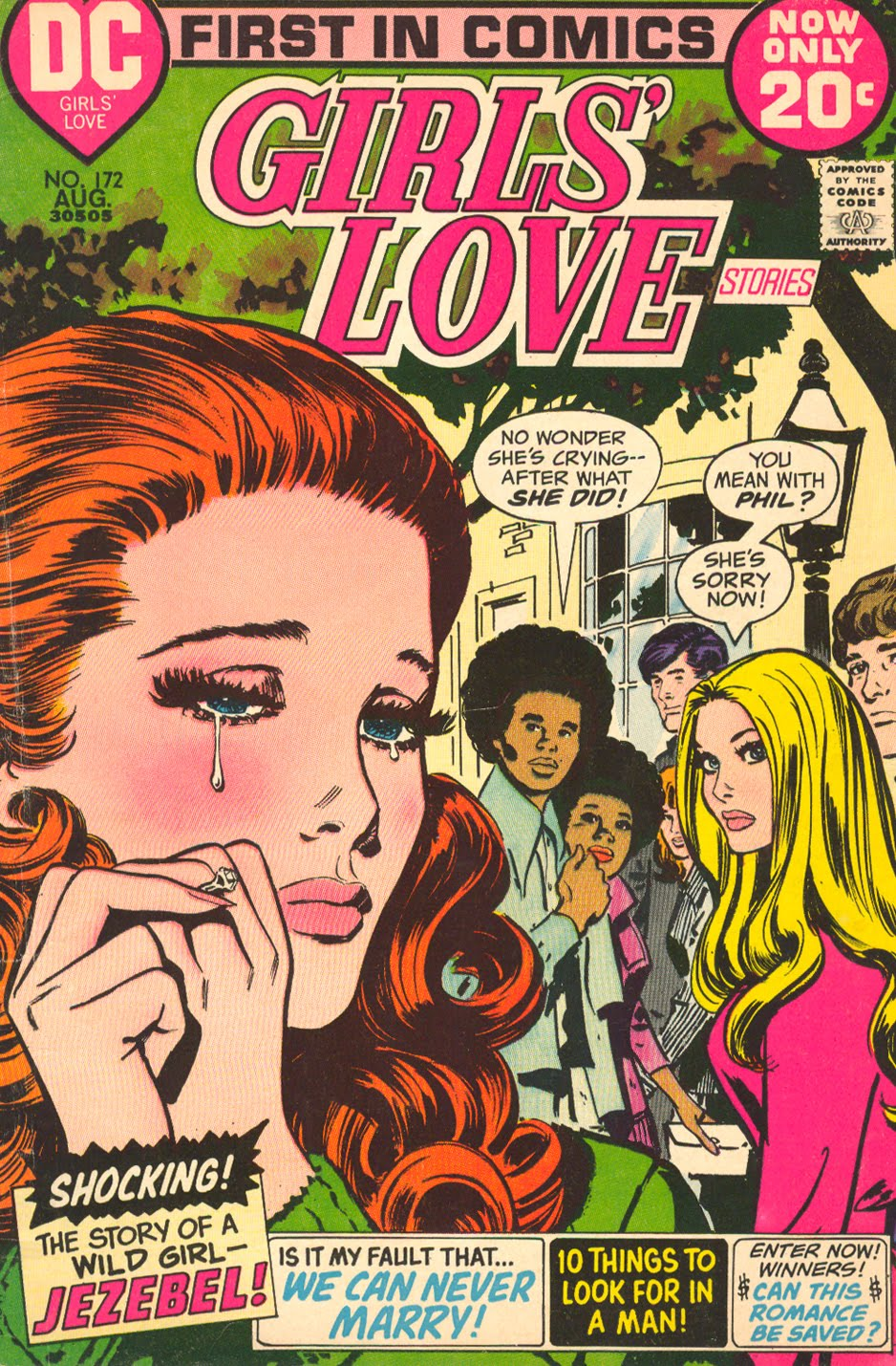Vintage Comic Book Cover : Sequential crush african american couples on the covers