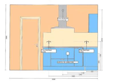 Armoires de cuisine plan d 39 armoire de cuisine gratuit - Exemple implantation cuisine ...