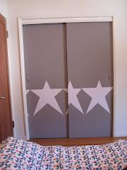 Star closet doors