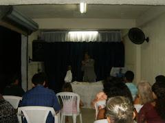 Primeira Santa Ceia na Congregaçao de Jardim Colorado