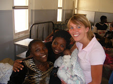 Fatuma and Eva Visiting The Hospital