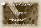 Sweet Home Blogger Award