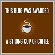 CoffeeBlogger Award